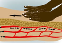 bloodflow with massage, www.majestichealinghands.com